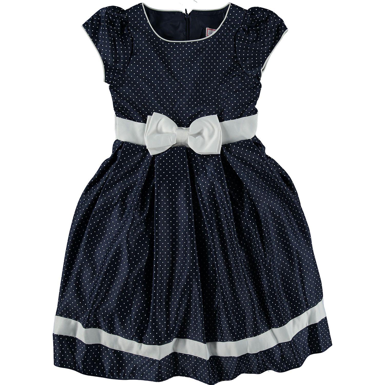 Sugar Plum Navy White Polka Dot Party Dress Tk Maxx