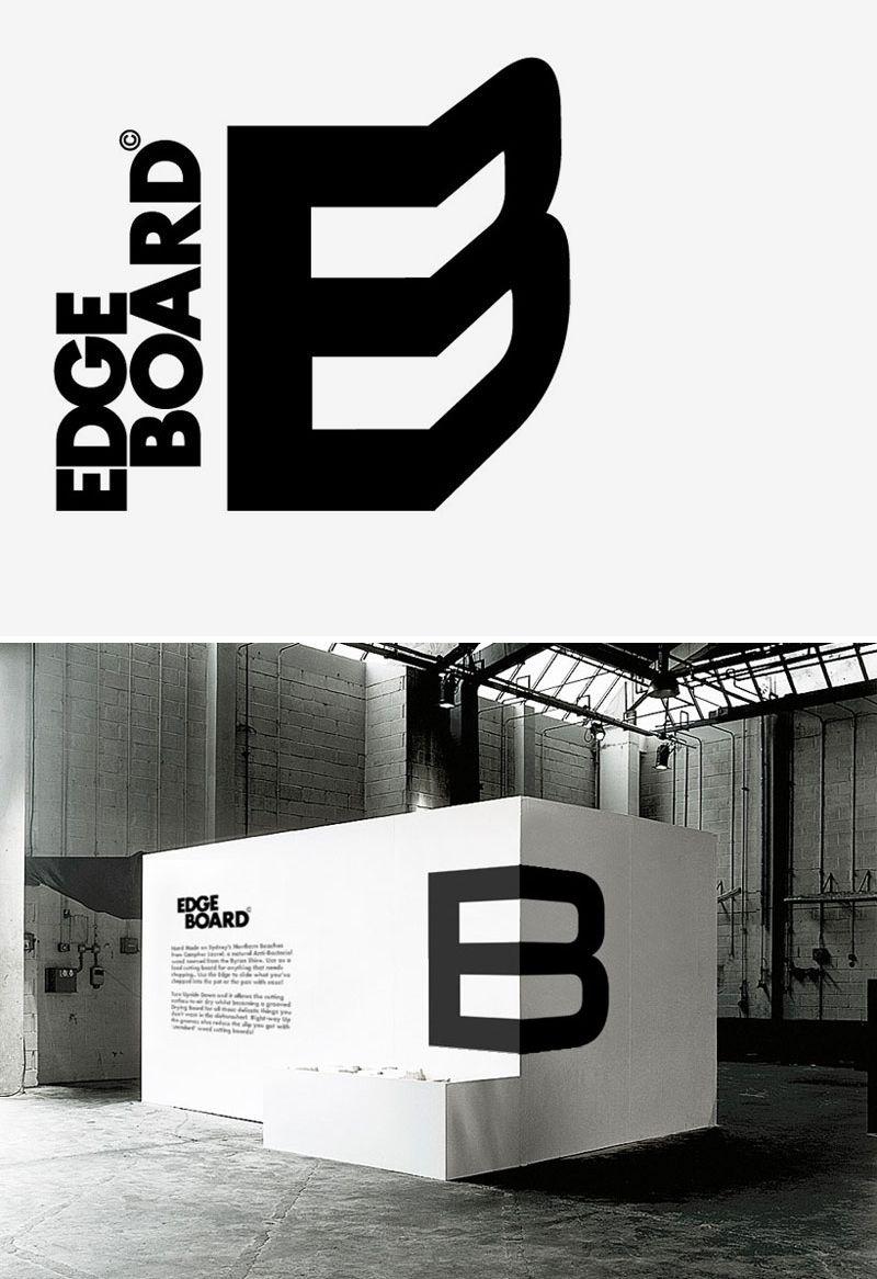 Edge Board Logo branding, Branding, Logos