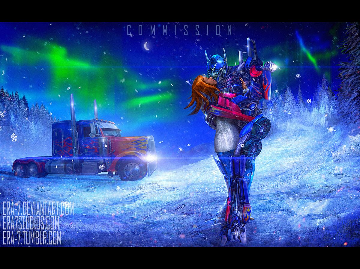 TF2007: Optimus Prime And His Girlfriend 2 By ERA-7S