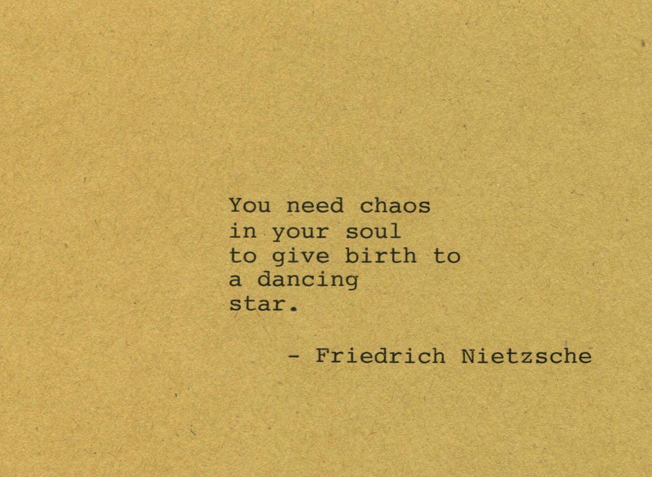Friedrich Nietzsche Quote Made On Typewriter Art Quote Wall Art