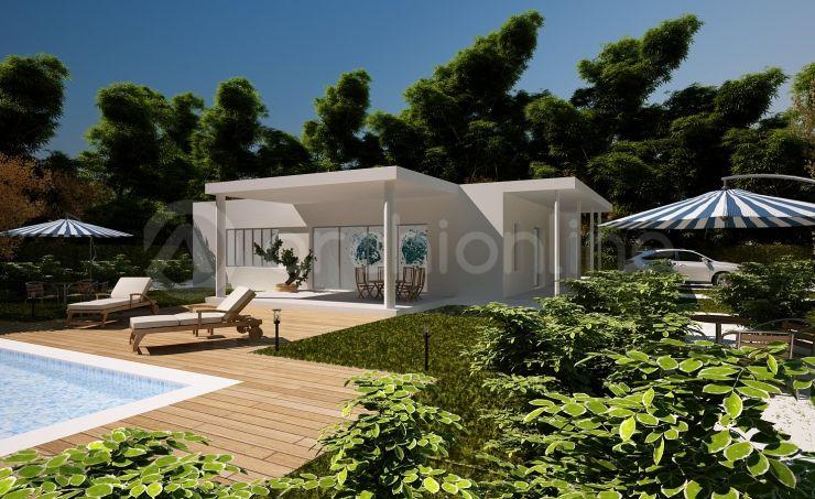 Villa Modero - Plan de maison Moderne réalisé par les architectes