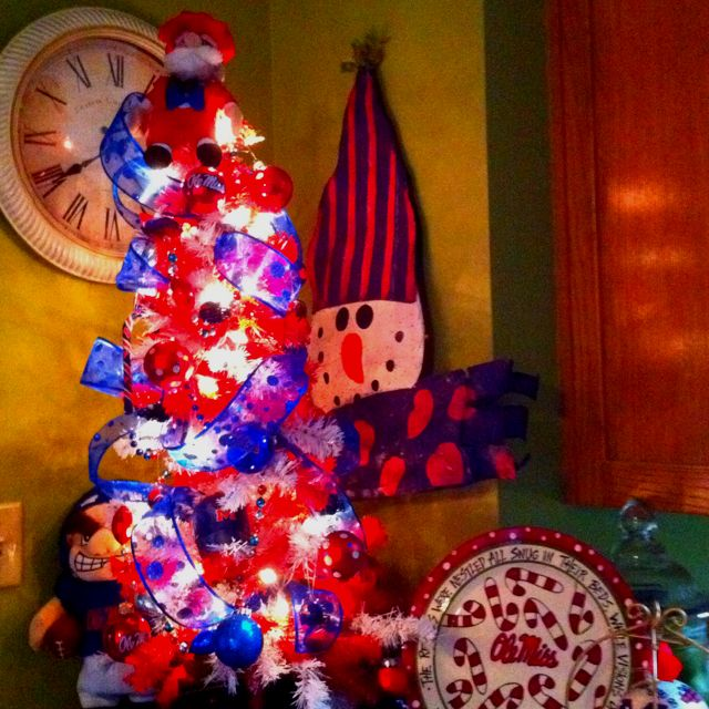 Ole Miss Christmas - Ole Miss Christmas Holiday Decorating Pinterest Ole Miss
