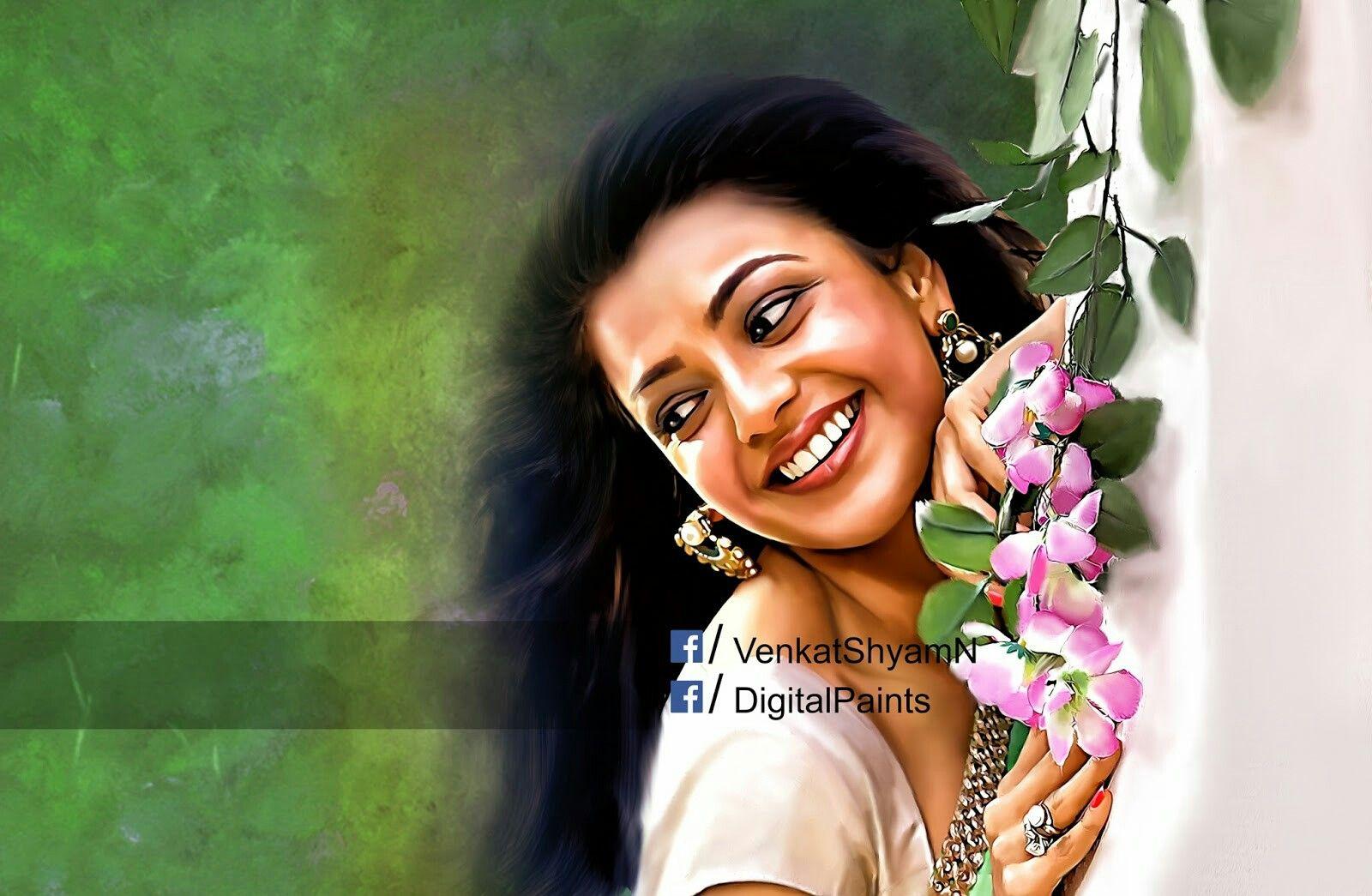 Tamil Digital Art Painting