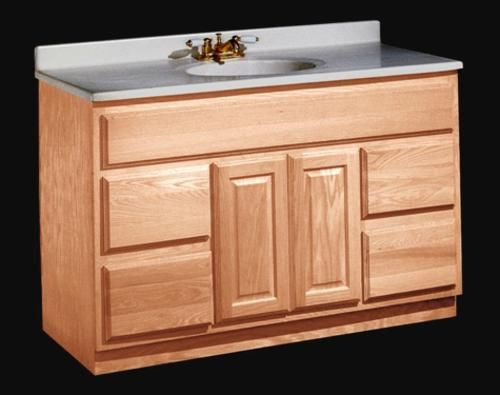 Unfinished Series 48 W X 21 D Vanity At