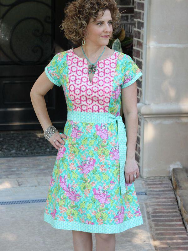 Corinne Caftan (Pattern)   Kleider   Pinterest   Nähen, Kleider und ...