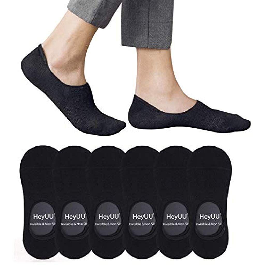 HeyUU Herren Damen Baumwolle Füßlinge Unsichtbare Sneaker
