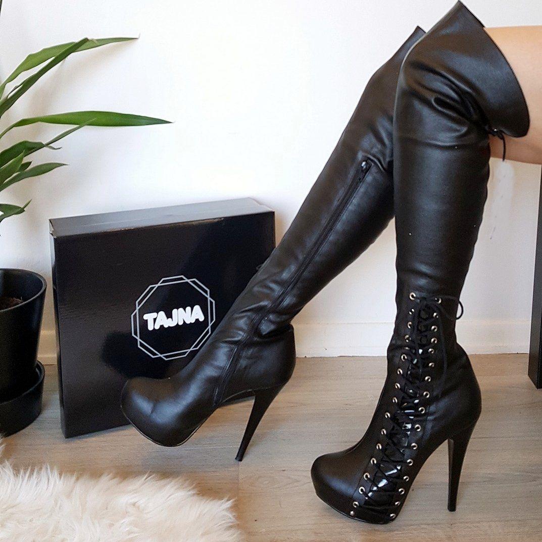 fd1a3756748 RTBU BLADE 20cm Platform Heel Crotch Hi Side Zip Customized