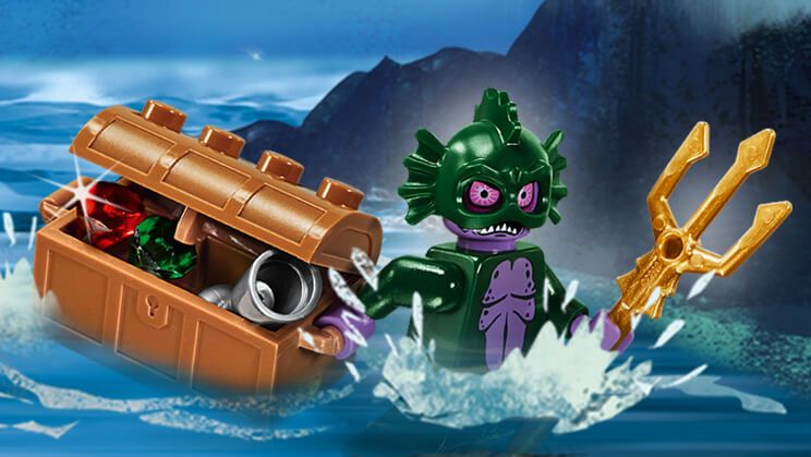 Criatura del pantano - Personajes - Scooby-Doo LEGO.com