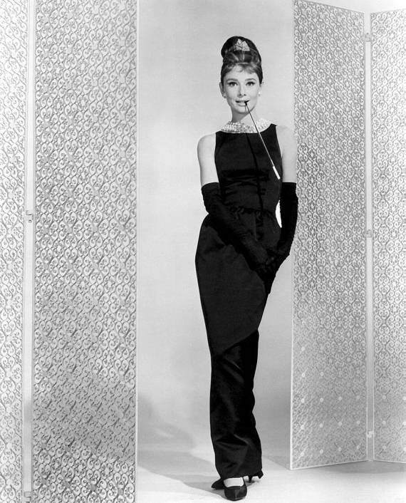 Breakfast At Tiffany S Audrey Hepburn Givenchy Dress Digital Art