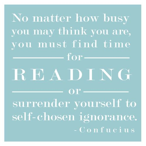 find time for reading