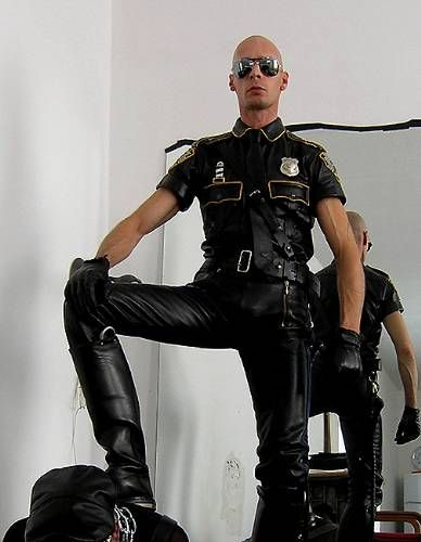 Perfect Example Of A Leather Cop Dine Pinterest Liker