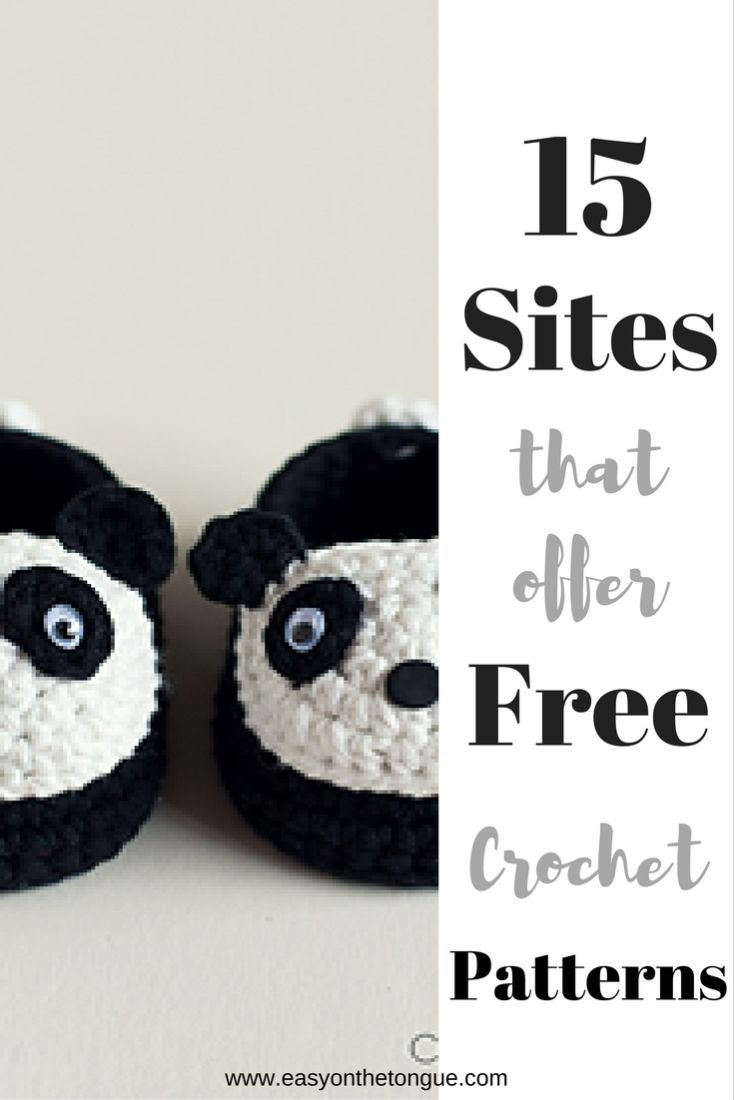 15 Sites offer free crochet patterns plus 10 Facebook groups ...