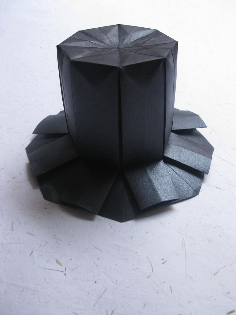 f19f4c4dc32 Joan Sallas  High Top Hat Origami Top Hat