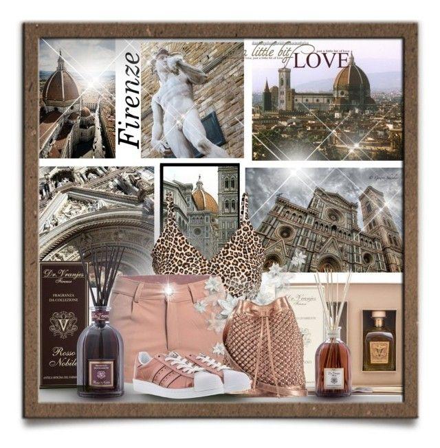 """Around  Florence...Italy 🇮🇹...my city ♥️"" by gianna-pellegrini on Polyvore featuring moda, Guide London, Campanile, Dr. Vranjes, nooki design e adidas Originals"