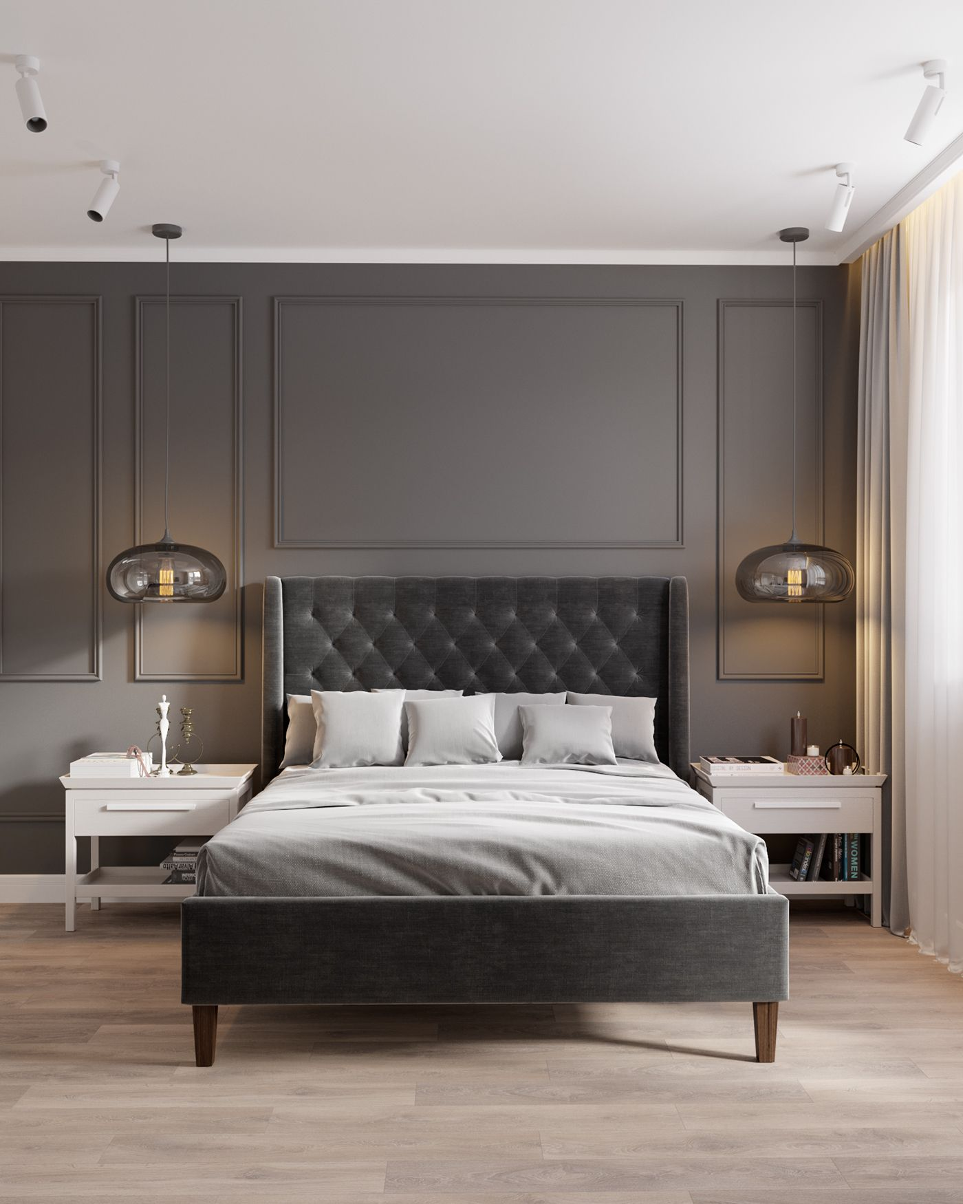 40 Guest Bedroom Ideas: Apartment 75m2 On Behance