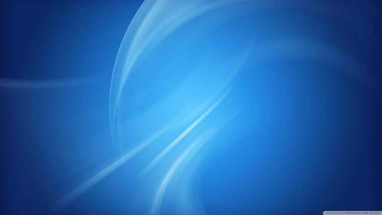 Blue Background Design 4K HD Desktop Wallpaper For 4K