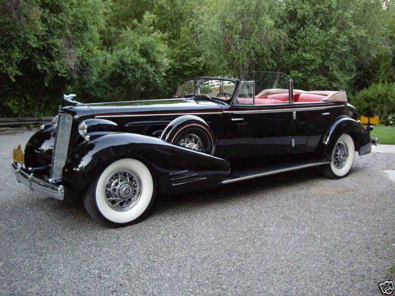 Cadillac 16 Cylinder Phaeton Convertible - 1934 - Picture ...
