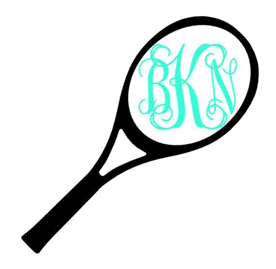 pin by brit kearns on my etsy store pinterest rackets rh pinterest com Tennis Ball Clip Art Female Tennis Clip Art
