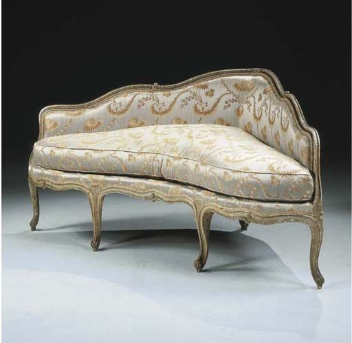Canape d 39 angle d 39 epoque louis xv sofa pinterest canapes for Louis xv canape sofa