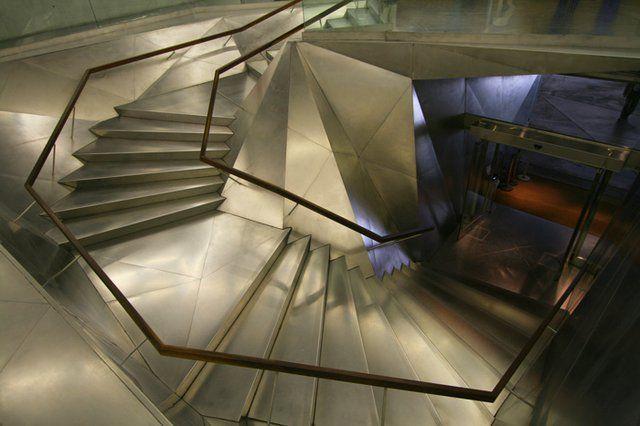 Madrid Caixaforum Herzog De Meuron Stairs Architecture Parts Of Stairs