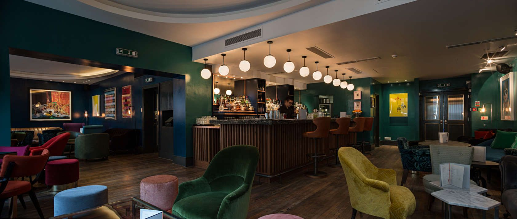 'MB were invited to design a cohesive and broad reworking of the entire layout of the iconic Groucho Club, which had grown organically over the years in a ve...