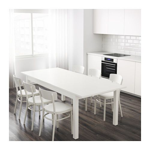 Ikea Bjursta Extendable Table 2 Extension Leaves Included Glamorous Dining Room Table For 2 Design Inspiration