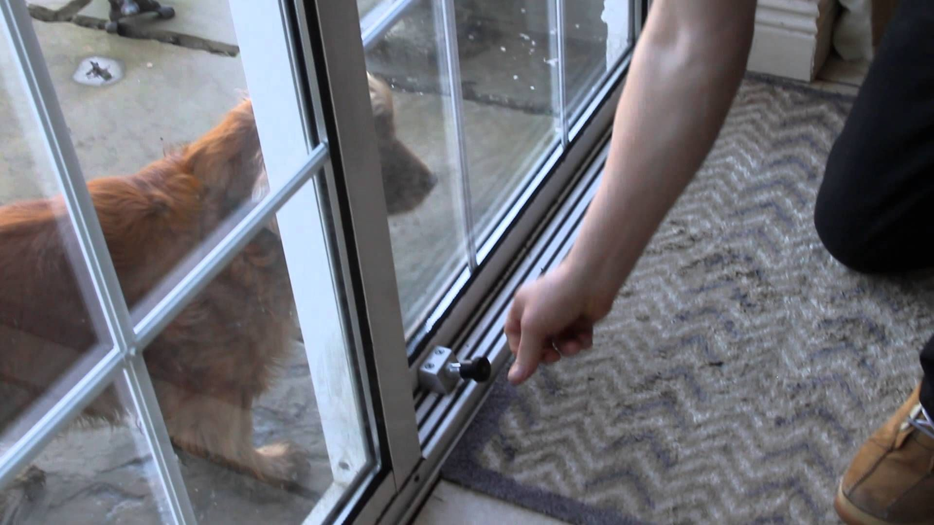 Best Way To Secure Your Sliding Patio Doors Secureyourhome Glass Door Lock Patio Door Locks Security Door