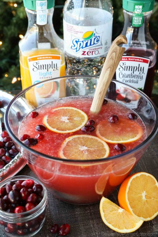 Colorful and Flavorful Punch Recipes For Parties