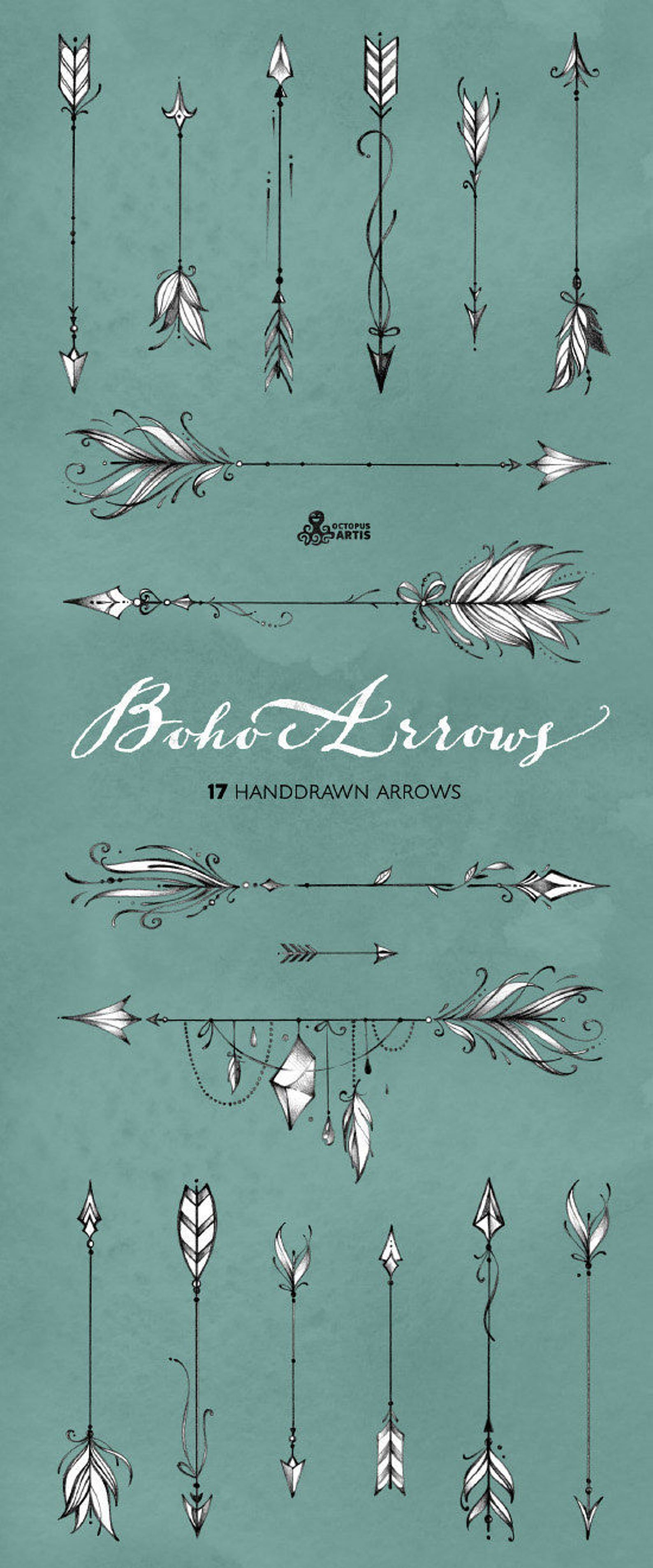 Boho Arrows 17 Hand Drawn Clipart Tribal Native Diy Elements Logo Invitation Pencil Transparent Digital Png Style Tattoo Romantic Arrow Tattoos How To Draw Hands Feather Tattoos
