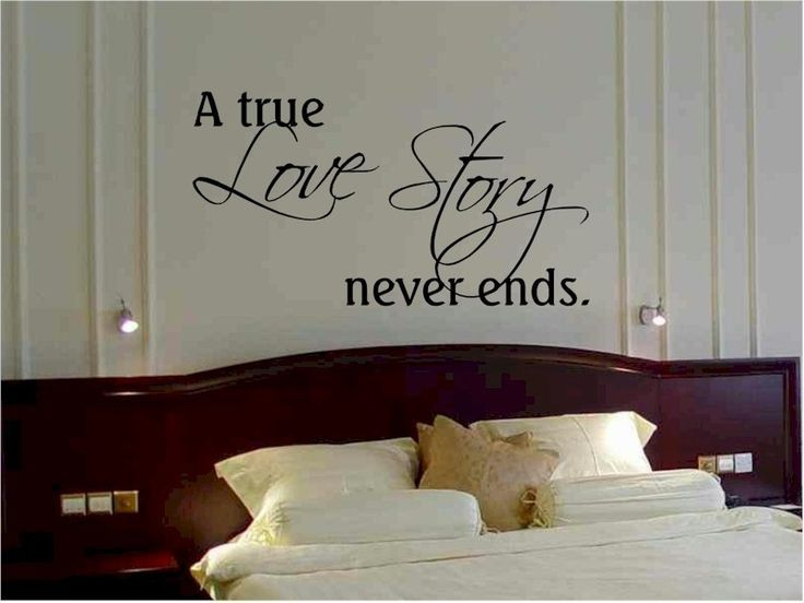 Pin On Home Design Idea Bedroom wall quote ideas