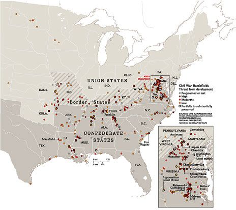 This Is An Amazing Interactive Map And Timeline Of The - Us map of civil war battles