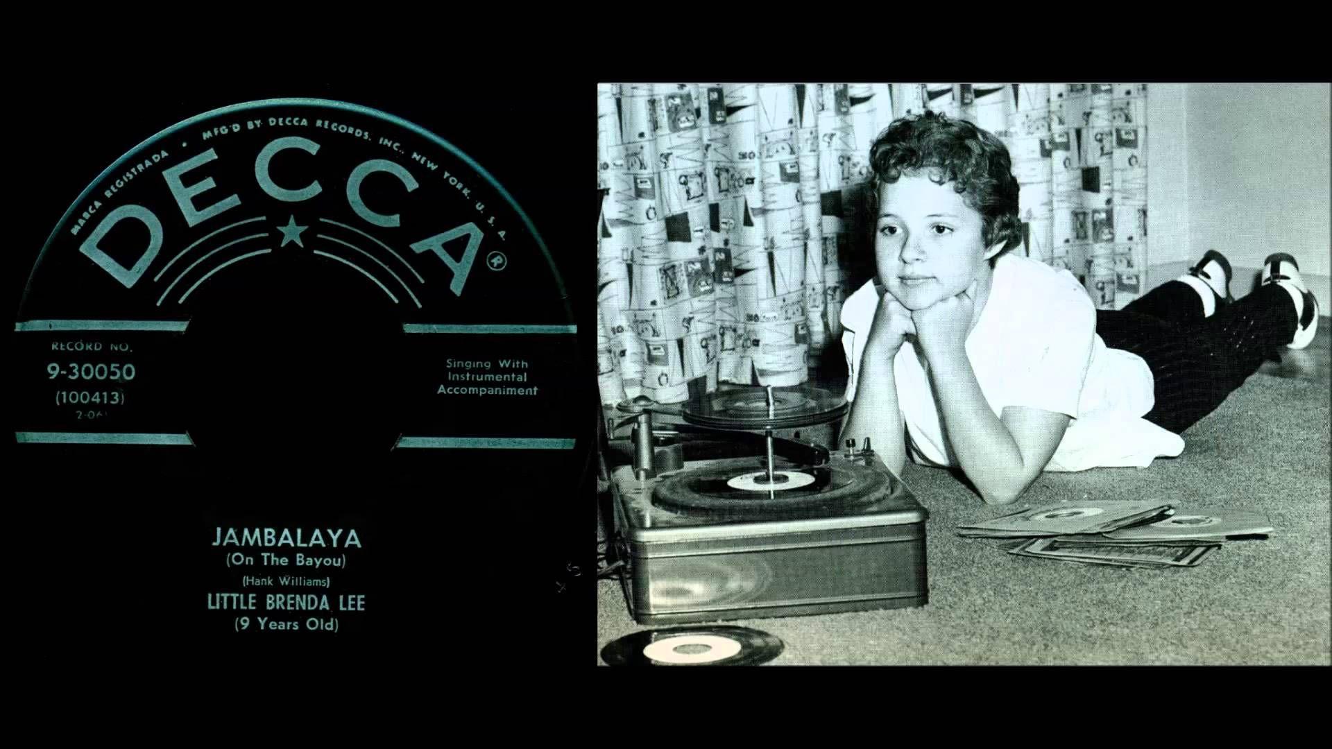 Brenda Lee - Jambalaya (On The Bayou) (Brenda Lee's first ...