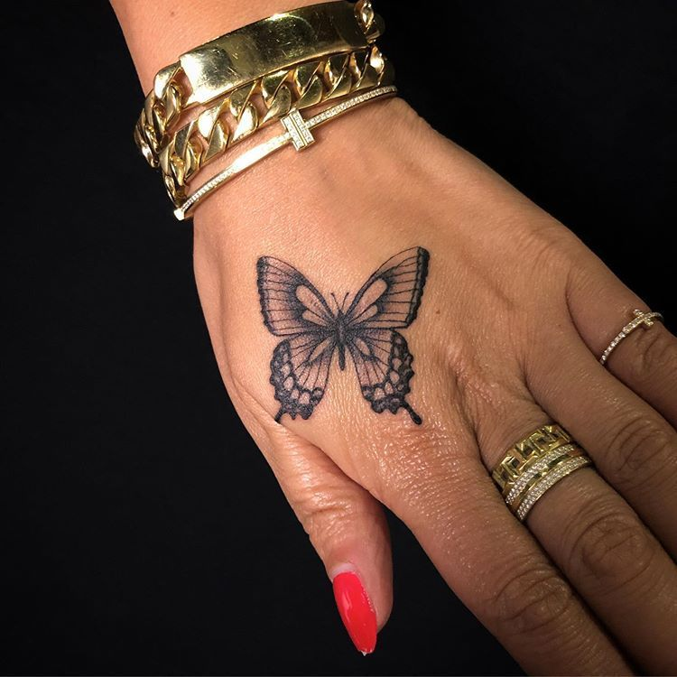 """Photo of Mikey Cortez auf Instagram: """"🦋 es super Spaß war diese winzige einzelne Nadel Schmetterling für"""