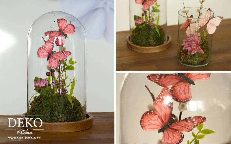 vintage Tisch Deko Holzeimer Blumegestecke arrangieren