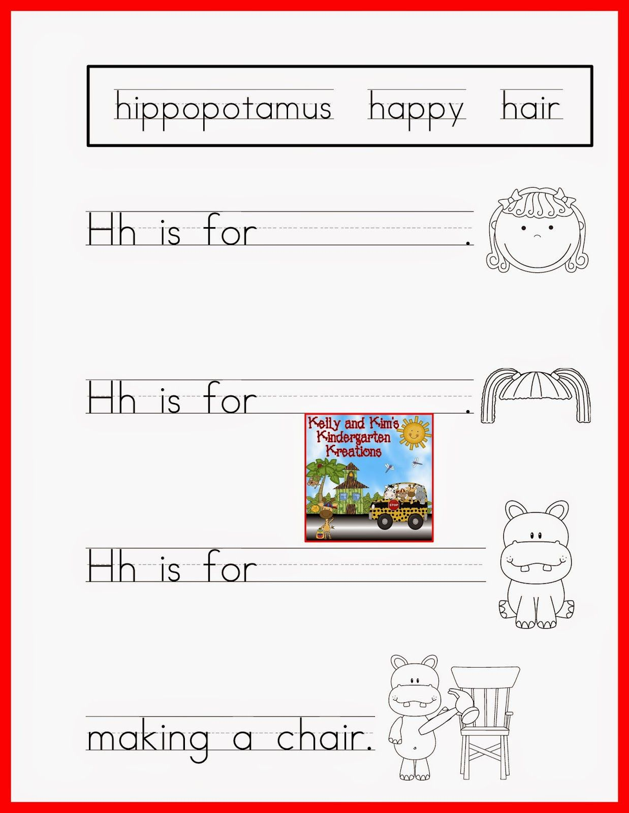 Alphabet Poems from A to Z! Great weekly activity for