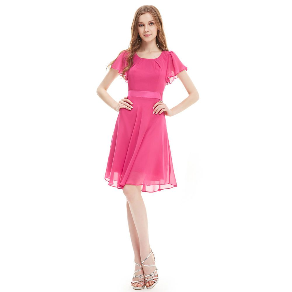 Alisapan Short Bridesmaid Evening Formal Dresses Party Prom Gowns ...