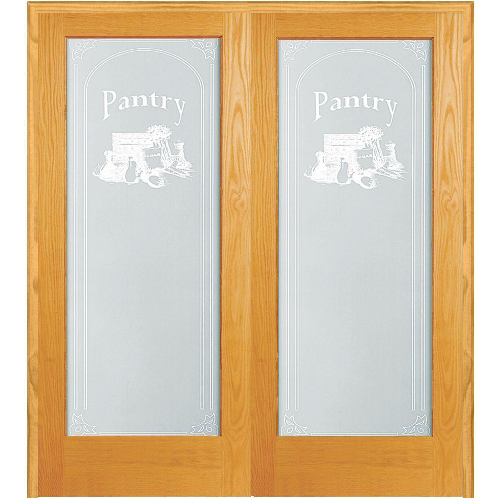 Mmi Door 60 In X 80 In Both Active Unfinished Pine Pantry
