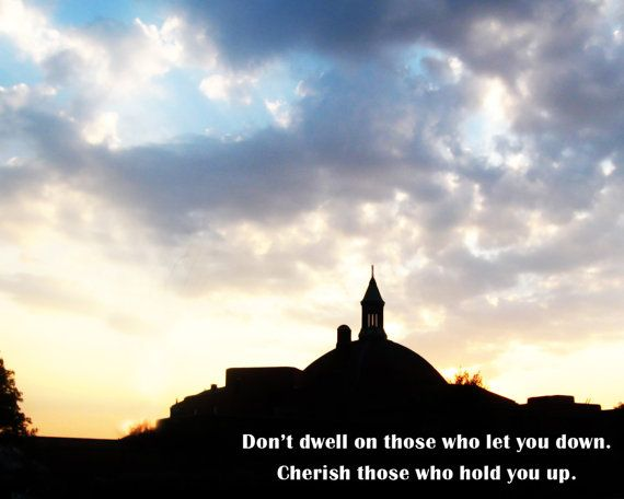 Don't dwell on those that let you down by LucyGracePhotography, $18.00
