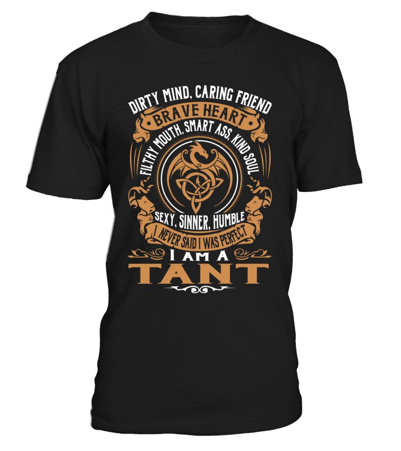 TANT Brave Heart Last Name T-Shirt #Tant