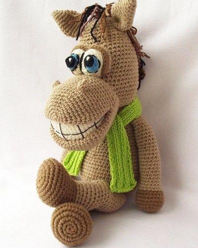 Free Crochet Amigurumi Animals Pattern   Horse Crochet Pattern ...