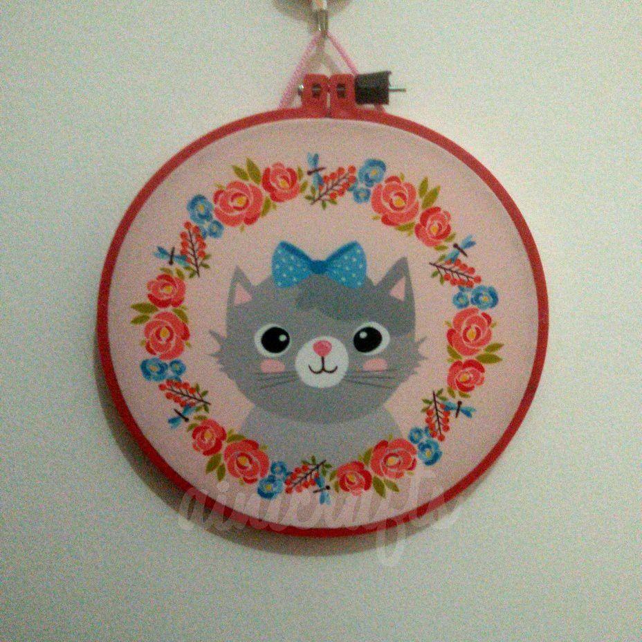 Saya menjual Hoop Art Kucing Pink 20 cm seharga $50000.00. Dapatkan produk ini hanya di Shopee! https://shopee.co.id/vanidiana/244873423 #ShopeeID