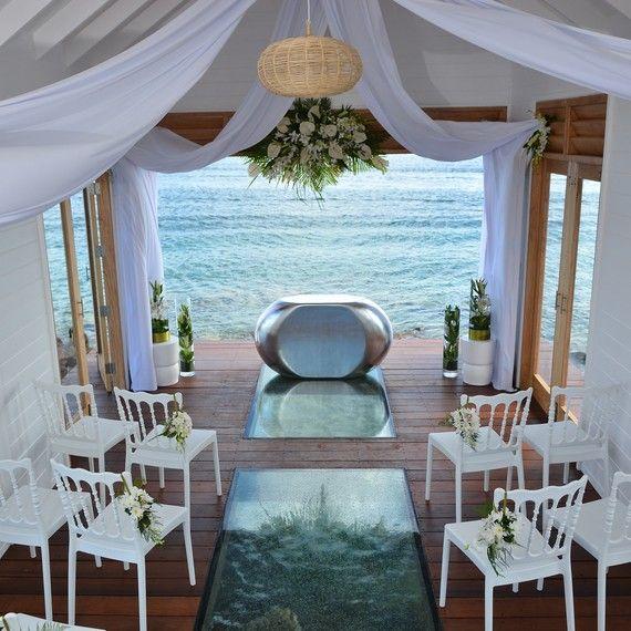 Sandals Resorts First Overwater Wedding Chapel In The Caribbean Interior Chapel Wedding St Lucia Weddings Weddingmoon