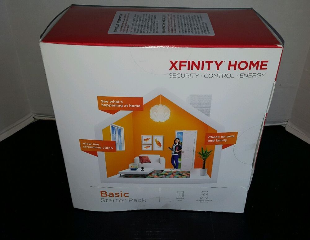 NEW Xfinity Wireless Home Security Basic Starter Pack