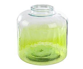 Jarrón de vidrio - verde