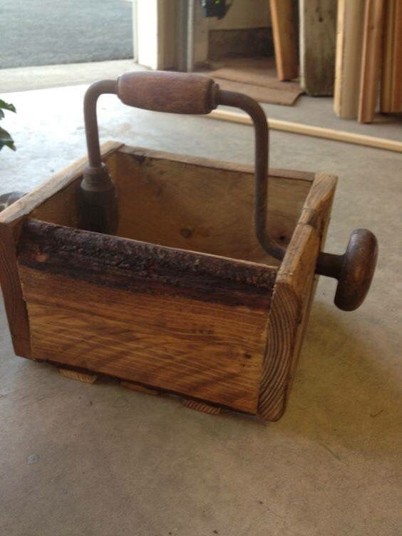 How cool is this! Good use for an old drill | Upcycling | Pinterest ...