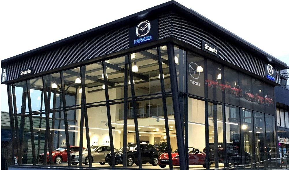 Stuarts Garages Mazda Official Car Dealership Dublin Car Showroom Design Car Showroom Showroom Design