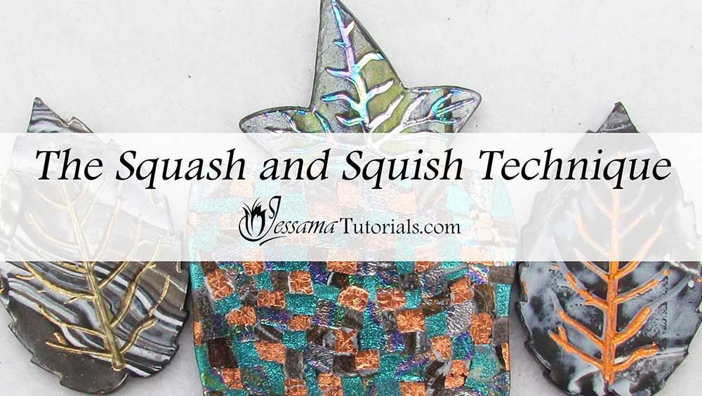 Photo of Squash and Squish Polymer Clay Technique
