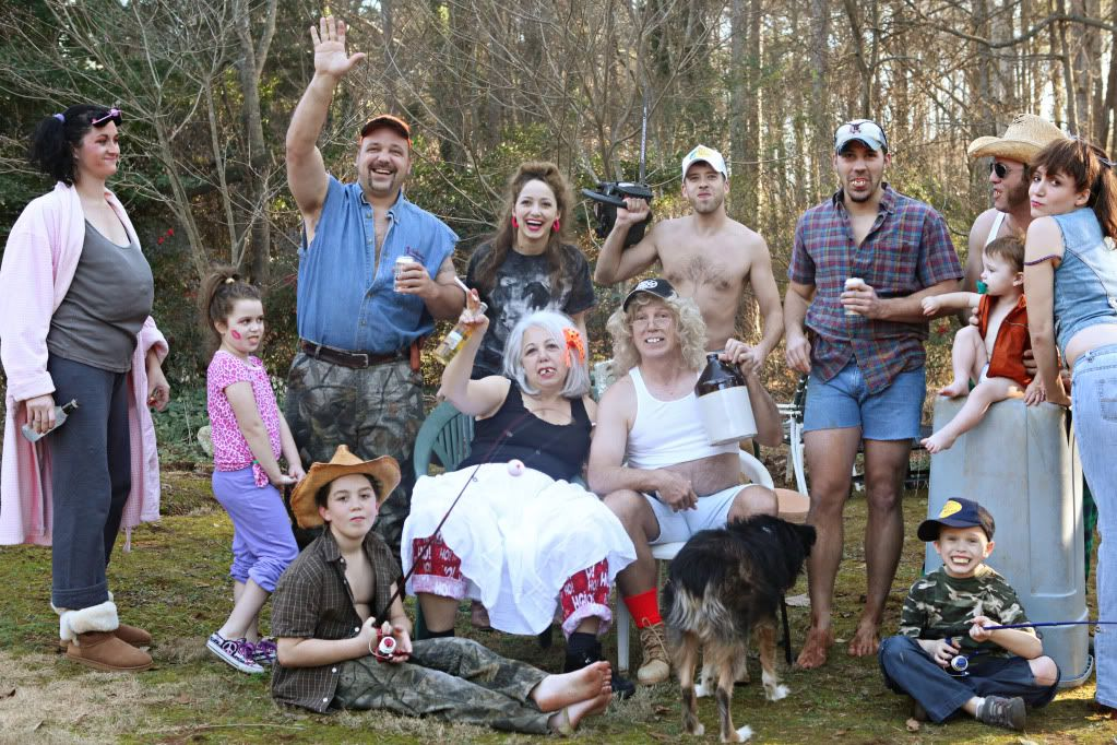 Redneck family sex fun