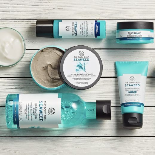 Seaweed Collection From The Body Shop The Body Shop Oily Skin Care Body Shop Skincare