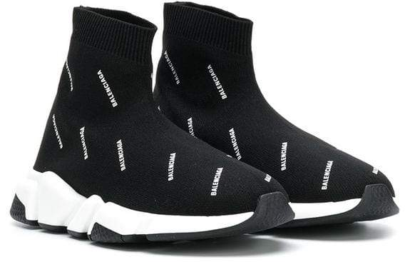 fc5b38f755c2 Balenciaga Kids Speed logo sock sneakers Speed Logo